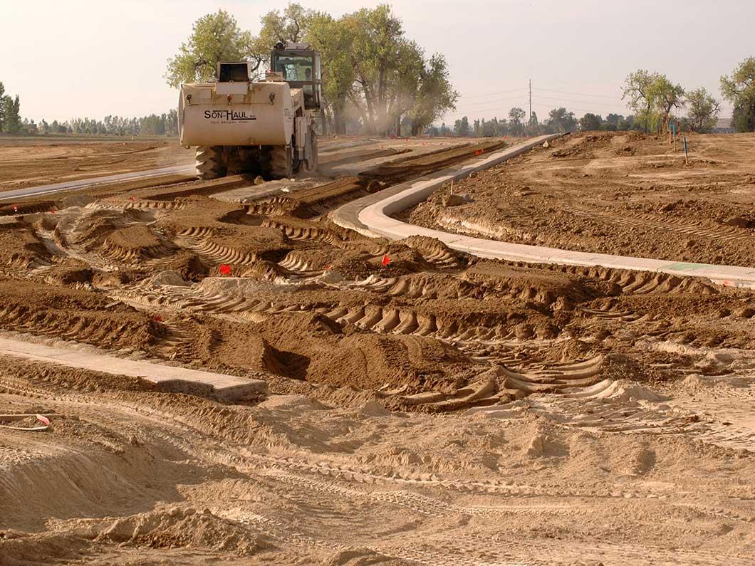 Soil stabilization son haul inc fort morgan co for Soil stabilization